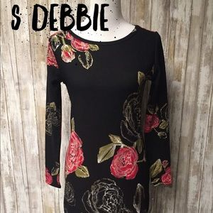 Lularoe stunning small ROSE Debbie dress UNICORN
