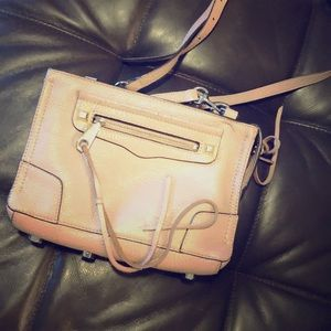 Blush Rebecca mink off crossbody!