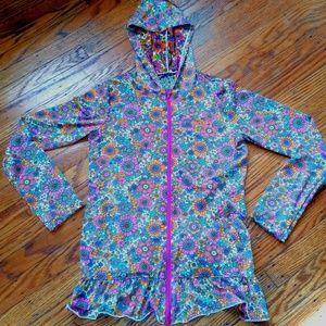 Roxy Dry Fit Flower Hoodie