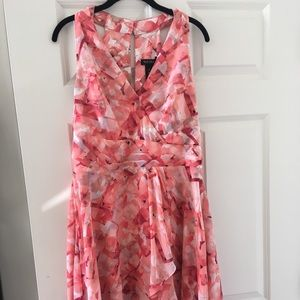 WHBM Floral Tiered Chiffon Sundress