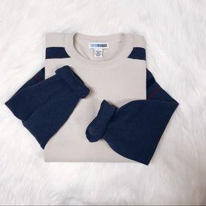 Canyon River Blues Cozy Cream Sweater