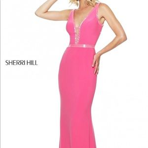 RED- Sherri Hill gown