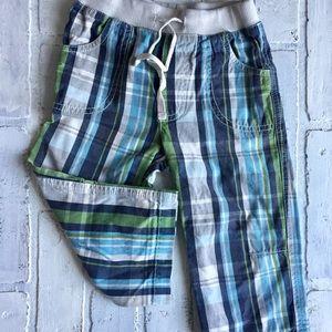 Mini Boden adorable plaid pants