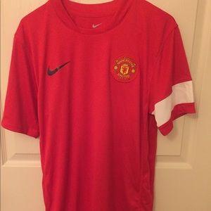 Manchester United Nike Shirt, Size Small