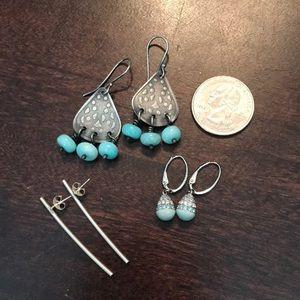 Jewelry - The Blues earring bundle
