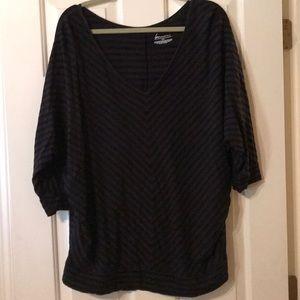 Lane Bryant v-neck blouse