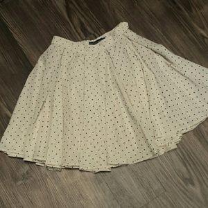 Vintage style skater skirt, S