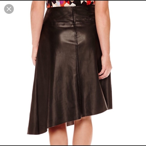 fde87af555 Asymmetrical Faux Leather Skirt. M_5a3147e6f092821ba400cda3. Other Skirts  you may like. NWT NEW Women's Worthington ...