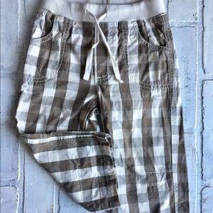 Mini Boden Adorable plaid Pants 18-24 months