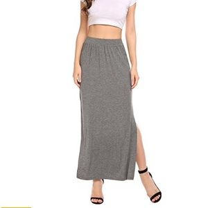 NEW long skirt with side slit