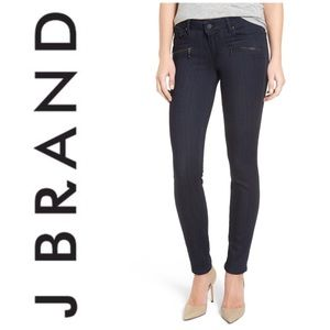 Paige Transcend Indio Zip Skinny Jeans