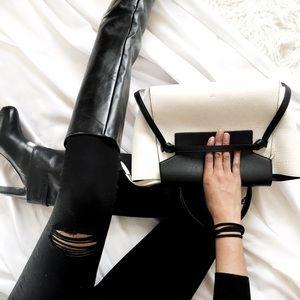 Zara High Knee Heeled Boots