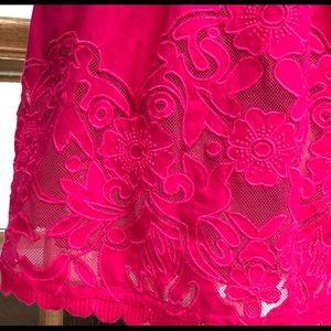 Anthropologie Moulinette Soeurs Fuchsia Dress