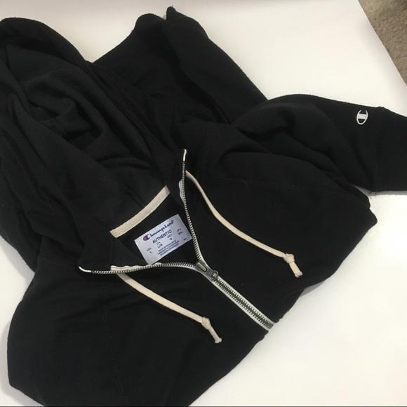 4c7821acb94b Champion Other - Champion Reverse Weave Hoodie Zip Up Black Large