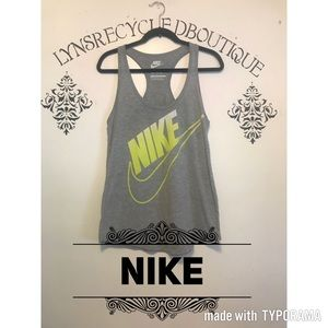 Nike Loose Fit Tank in Gray! Size Medium! 🔥