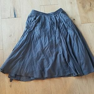 J Crew dark grey skirt. Size 0