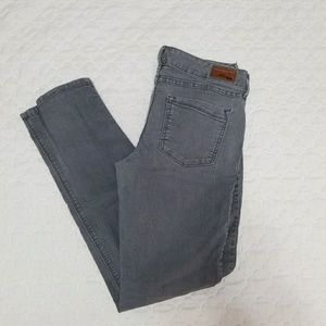 Gray Express skinny jeans