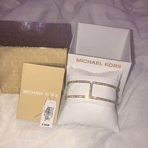 NWT Michael Kors bracelet cuff.