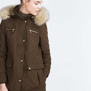 NWT Zara Utility Jacket, size M