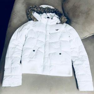 Girls large winter coat