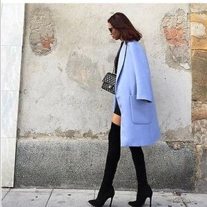 NWT Zara Blue Coat