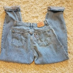 Levi's 550 vintage high waisted mom jeans