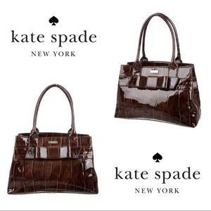Kate Spade ♠️ Elena Knightsbridge Patent Leather