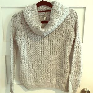 Worn only once..Banana Reupublic Cowl Neck Sweater