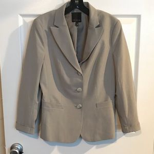 Heather Gray Suit Jacket