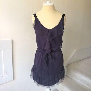 Xhilaration Ruffle Blouson Dress