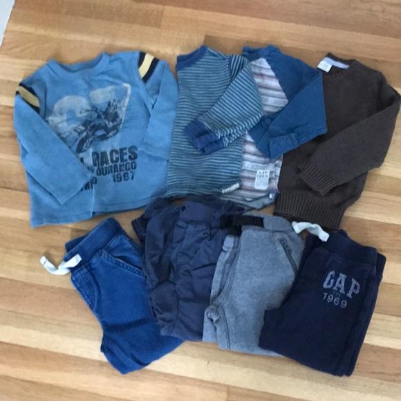 b2c0ad02 Lot of Toddler Boys 2T clothes, Gap & Zara