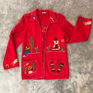 Vintage Embroidered Mexican Jacket
