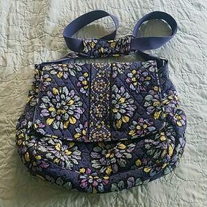 Vera Bradley Indigo Pop Diaper Bag