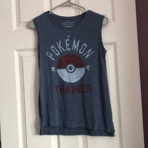 Pokémon trainer muscle tee