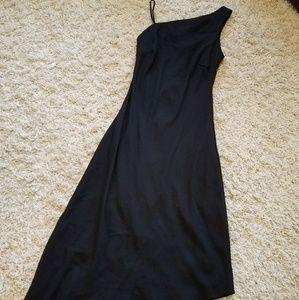 Rabbit black asymmetrical dress