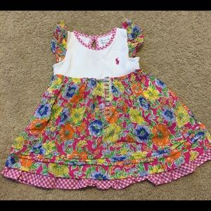 Polo Baby Girl Dress NWOT 12 Months