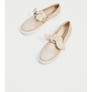 NEW Zara Sneakers With Bow