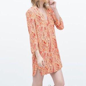 Zara Paisley Tunic