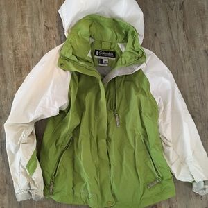 Columbia outer shell jacket