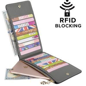 Yaluxe Women's RFID Leather Wallet *NEW*