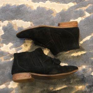 Black DV booties