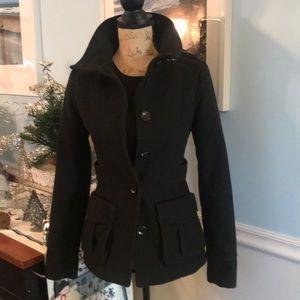 🖤Hot black H&M coat! Size 2. Excellent condition