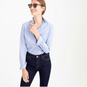 Madewell Light Blue Button Down Long Sleeve Shirt