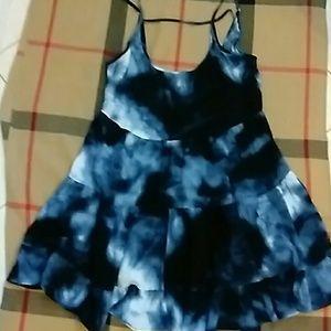 BRANDY MELVILLE JADA DRESS BLUE SIZE SML