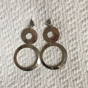 Vintage Sterling Taxco Mexican Silver Earrings