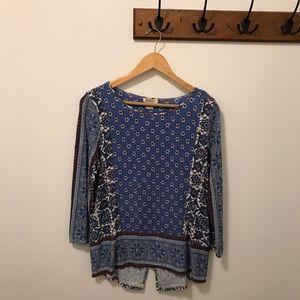 Lucky Brand 3/4 length sleeve Shirt
