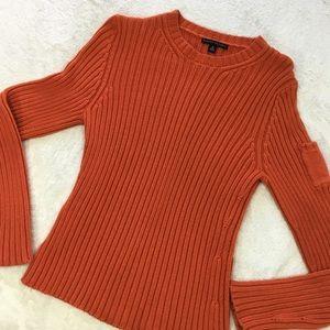 Orange Size Medium Sweater by Banana Republic