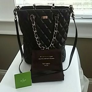 Excellent Condition Kate Spade Black Handbag