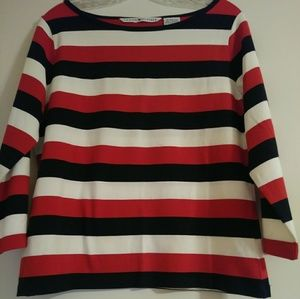 New Womans Tommy Hilfiger Striped Shirt XL