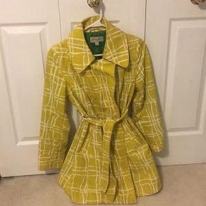 Light Outerwear Jacket - Yellow - Size Medium